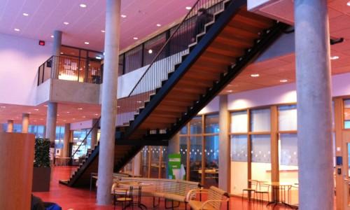 Stairs for Blekinge Institute of Technology