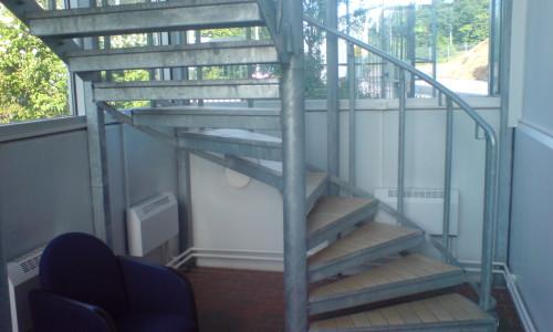 Custom combo stair