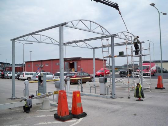 Steel construction Swedia Ronneby