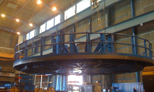 Carusell welding to cable industry
